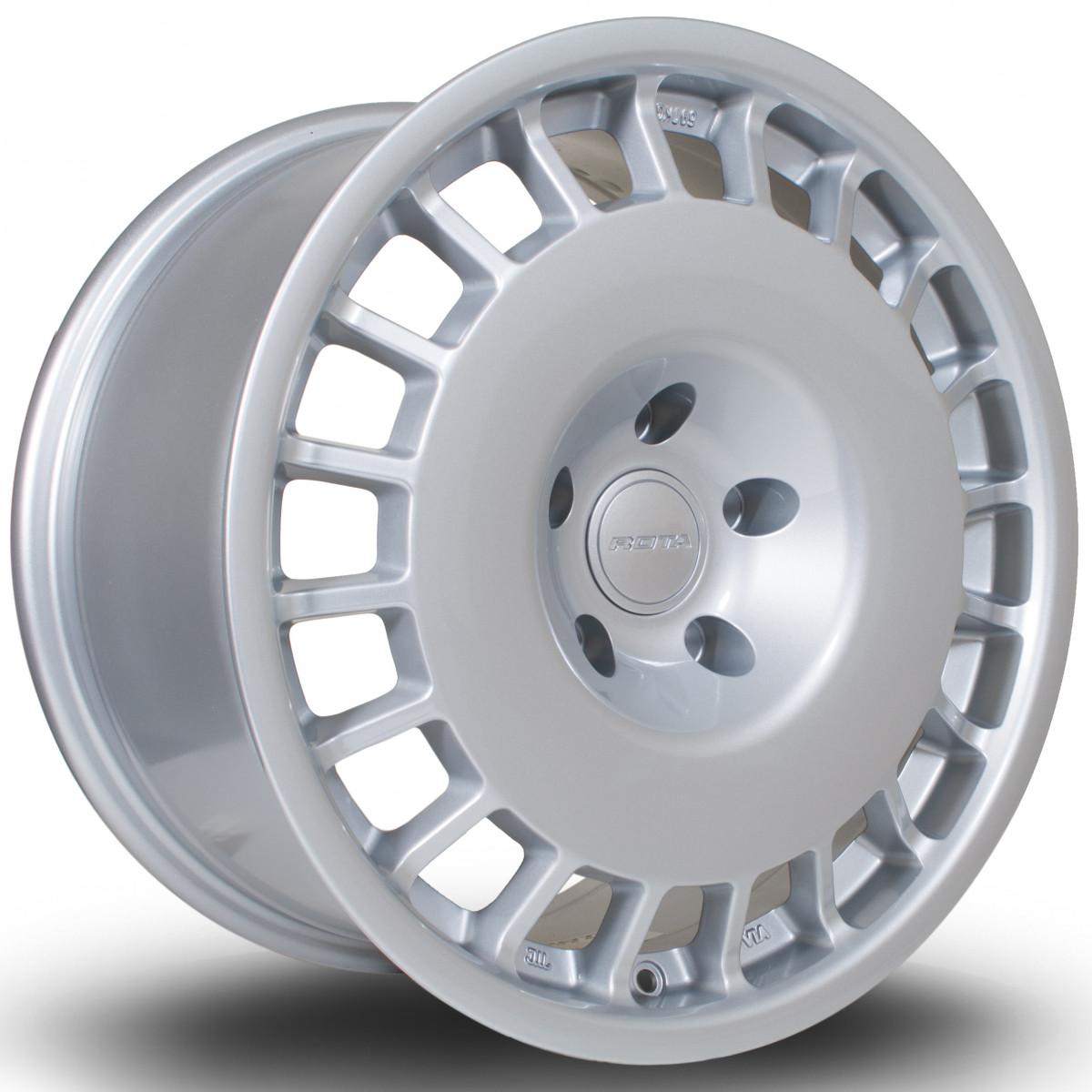 D154 17x8.5 5x120 ET38 Silver