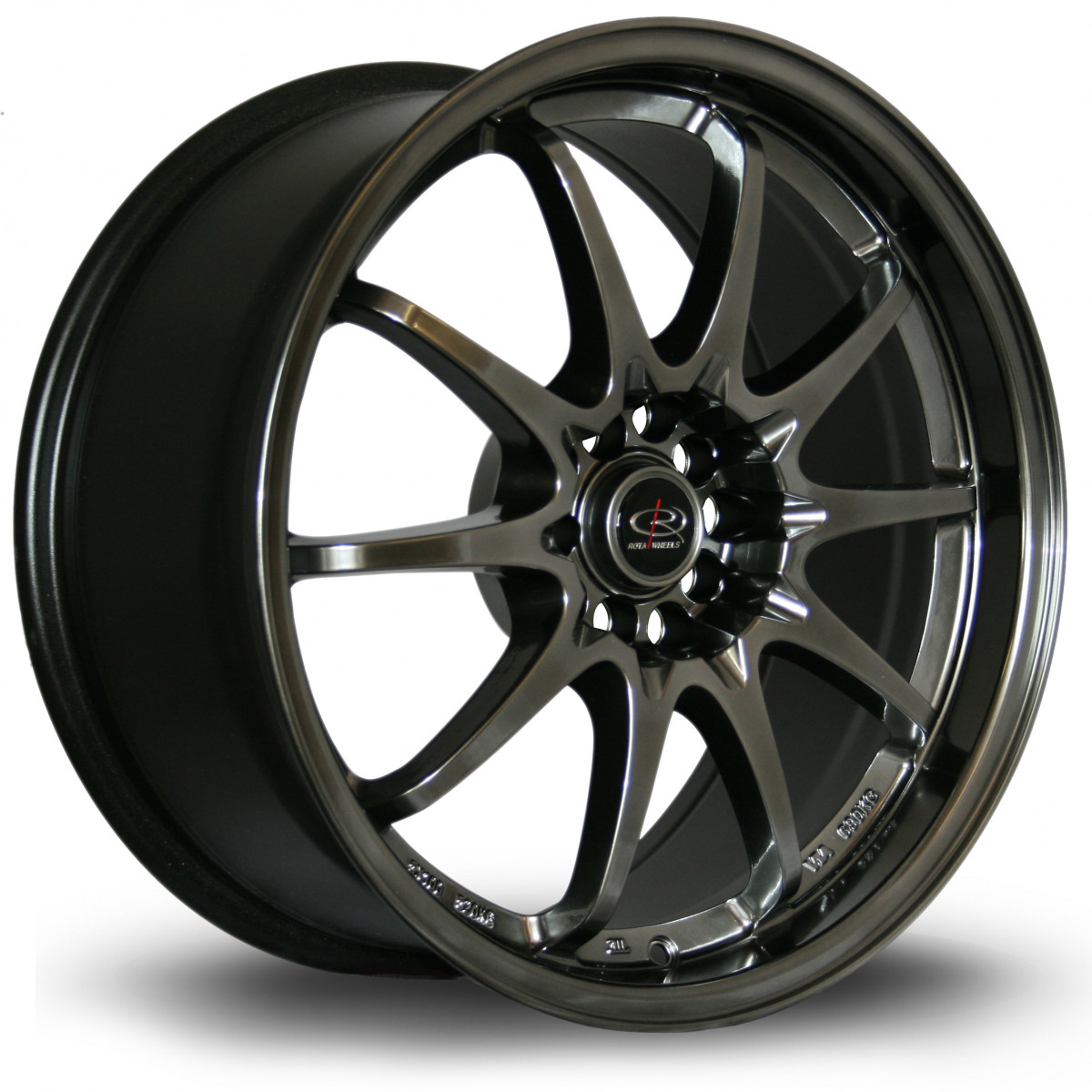 Fight 18x8.5 5x100 ET30 Hyper Black
