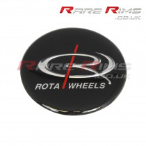 Rota Medium Top Centre Cap Gel Badge Sticker