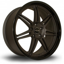 Dyna 19x8.5 5x114 ET15 Flat Gunmetal with Gloss Black Lip
