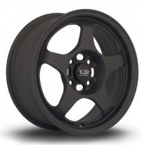 FF10 15x6.5 4x100 ET35 Flat Black 2
