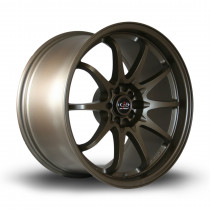 Fight 18x9.5 5x100 ET35 Matte Bronze
