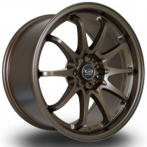 Fight 18x9.5 5x100 ET35 Matte Bronze 3