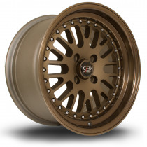 Flush 15x8 4x100 ET20 Speed Bronze