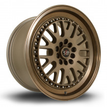 Flush 17x9.5 5x100 ET25 Speed Bronze