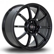 Force2 18x8.5 5x120 ET45 Gloss Black