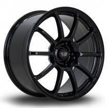 Force2 18x9 5x120 ET43 Gloss Black