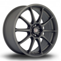 Gra 17x7.5 5x100 ET48 Flat Black 2