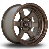 Grid-V 15x8 4x114 ET0 Speed Bronze