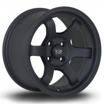 Grid 15x8 4x100 ET20 Flat Black 2