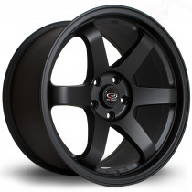 Grid 18x10 5x114 ET15 Flat Black