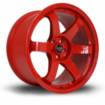 Grid 18x9.5 5x100 ET23 Red