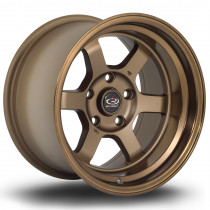 Grid-V 15x9 5x114 ET0 Speed Bronze