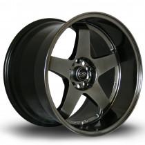 GTR-D 18x12 5x114 ET20 Hyper Black