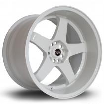 GTR-D 18x12 5x114 ET0 White