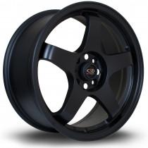 GTR 17x7.5 4x108 ET45 Flat Black