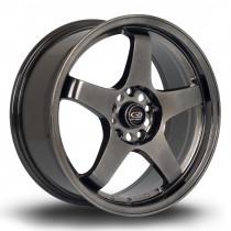 GTR 17x7.5 4x108 ET45 Hyper Black