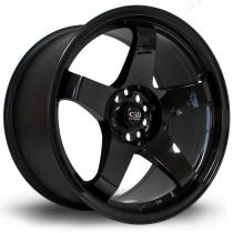 GTR 18x9.5 5x114 ET30 Gloss Black