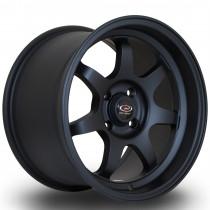 K7 15x9 4x100 ET36 Flat Black