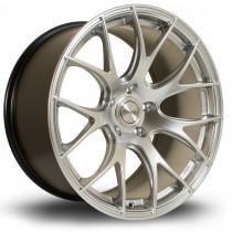 LC818 19x10 5x100 ET38 Hyper Silver