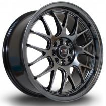 MXR 17x7.5 4x100 ET40 Hyper Black