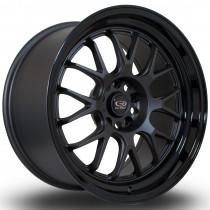 MXR 18x9.5 5x114 ET20 Flat Gunmetal with Gloss Black Lip