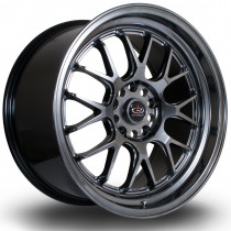 MXR 18x9.5 5x120 ET45 Hyper Black