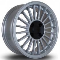 R20 15x6 4x100 ET29 Silver with Black Centre