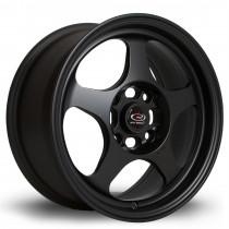 Slipstream 15x6.5 4x100 ET40 Flat Black