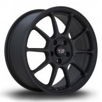 SS10 17x7.5 5x108 ET50 Flat Black 2