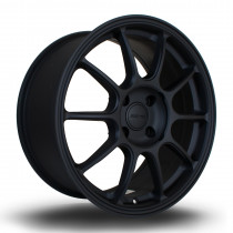 SS10 17x7.5 5x108 ET50 Flat Black