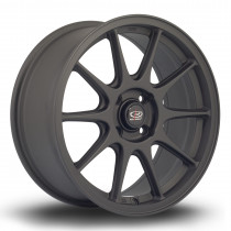 Strike 17x7.5 4x108 ET40 Flat Black 2