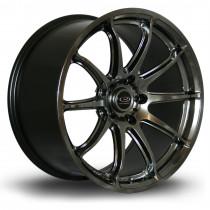 T2R 18x9.5 5x100 ET38 Hyper Black