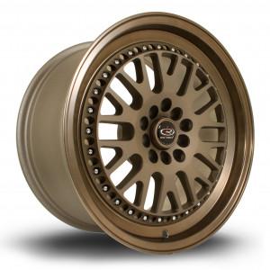 Flush 17x9.5 5x100 ET25 Speed Bronze